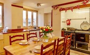 Kitchen Table seats 8-10