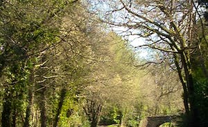 The Monmouth and Brecon Canal - a 10 minute walk away
