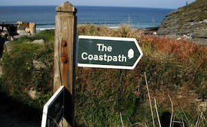 Heritage coastal path this way!