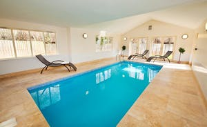 Foxcombe -  Somerset - Fantastic timber clad lodge sleeping 14 in 6 en suite bedrooms, with a private indoor pool