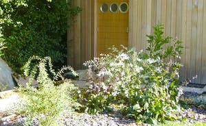 The Cottage Beyond: The spa hall has a keypad lock for safety