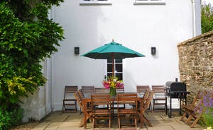 Berry House - A quiet spot for alfresco dining; great for morning coffee