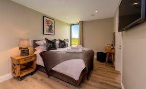 Croftview - Bedroom 5 (Badger): On the first floor, with an en suite shower room