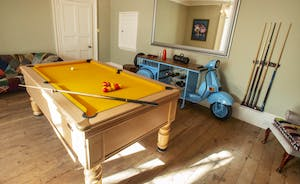 Sandfield House - The games room: a seriously cool place to hang out
