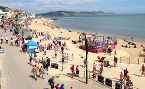 Beach At Lyme Regis