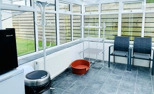 Conservatory and Seating area
