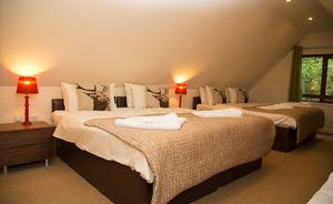 Thorncombe - Bedroom 3 -is a cosy family room on the first floor