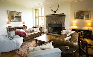 Bossington Hall - To gather together by an open fire on a chilly afternoon late in the year is an absolute pleasure
