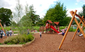 Play area in Abbey Gardens