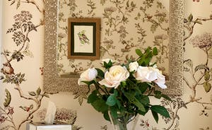The Cottage Beyond: Nature themed touches in Bedroom 5 - don't forget you're in rural heaven here!