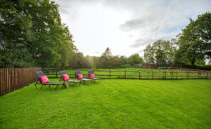 Flossy Brook - A play area for the kids, all that space for family games; the perfect big family holiday