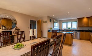 Herons Bank - The kitchen is spacious and very well equipped