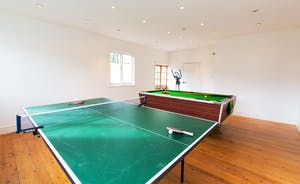 House On The Hill - A light and airy Games Room for table tennis or pool