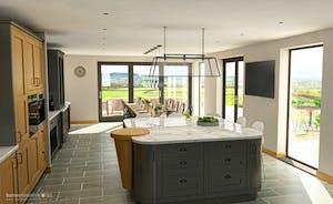 The Cedars - Super-stylish interiors, breath taking views over the Devon hills