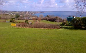 Local golf club and view 1st tee.