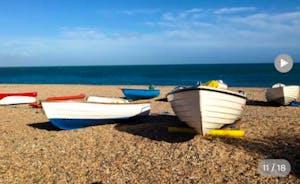 Hallsands Beach Boats