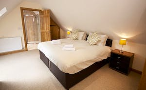Crowcombe - On the first floor is bedroom 6,  with an en suite shower room