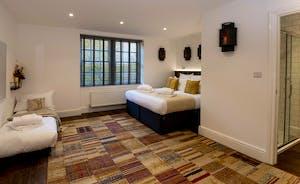 Hesdin Hall - Bedroom 1 can sleep 3 and has an en suite shower room