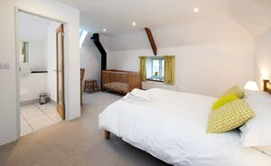 Whinchat Barns - Dippers Rest: Bedroom 1 on the first floor