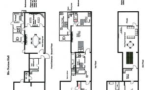 Plan of the Hall