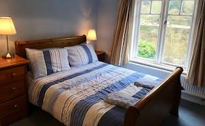 Riversdale Lodge Bedroom Blue