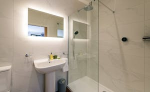 Churchill 30 - The en suite shower room for Bedroom 8