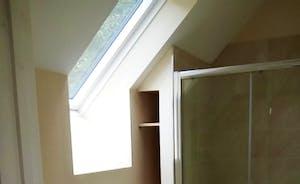 Shower room of bedroom 2