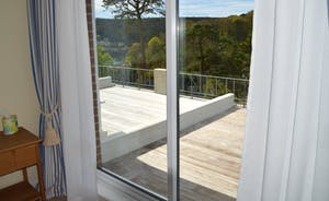 View of Terrace from Master Bedroom