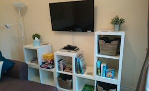 Woodside living space
