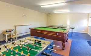 Dippers Rest, Stonehayes Farm - There's use of a shared games room