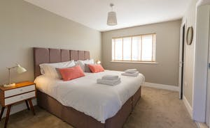 The Plough - Bedroom 2 has zip and link beds and room for another single (charged extra)