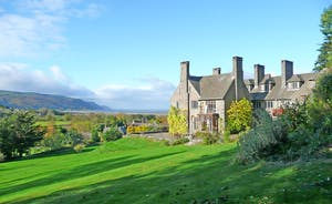 Bossington Hall - Edwardian country grandeur high above the beautiful Porlock Vale