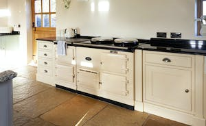 A four oven electric Aga means you can create all sorts of culinary delights