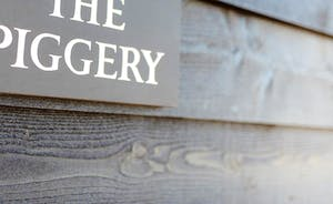 The Piggery - Sign