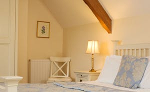The Old Rectory - The Emily Elrington bedroom on the second floor - part of the Elrington Suite