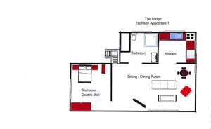 First Floor Apartment Floor Plan