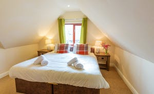 Thorncombe - The smallest of the bedrooms, Bedroom 4 has an en suite bathroom