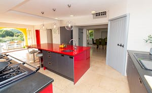 The Benches - The stylish open plan kitchen and dining area is a very sociable space