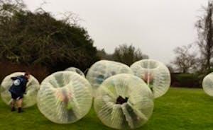 Bubble football Bristol at the Grange