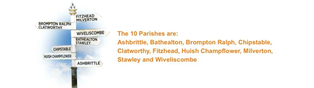 The 10 parishes of 10parishesfestival
