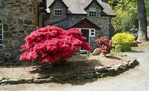 Aber Cottage front
