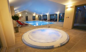 Beaverbrook 20 has the most amazing spa hall with a pool, jacuzzi and sauna