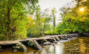 Tarr Steps - Ancient Bridge On Exmoor makes a wonderful day out for the family