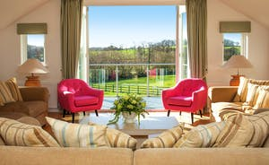 Fuzzy Orchard - With heaps of natural light, the spacious first floor living room has far reaching  country views