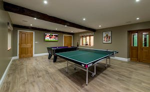 Kingshay Barrton - Keep up with the latest big match in the games room