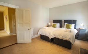 Sandfield House - Bedroom 4: The bedrooms are all spacious and very restful