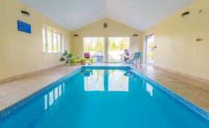 Cockercombe: A fabulous heated pool, for heaps of family fun