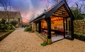 Kingshay Barton - Out in the garden there's a heated weatherproof BBQ bothy