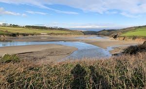 Wonwel Estuary View From Coastal Path