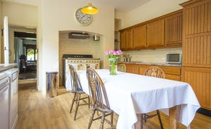 Bossington Hall - Hand crafted units in the main kitchen